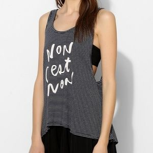 Truly Madly Deeply Non Striped Low Back Tank